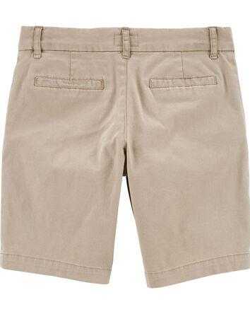 Stretch Uniform Shorts