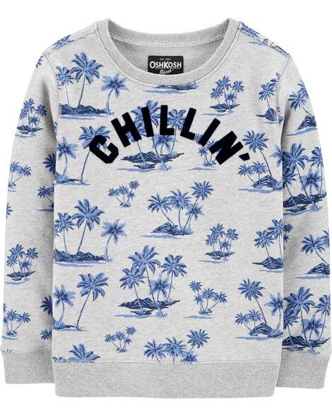 Crew Neck Chillin' Sweatshirt