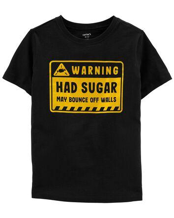 T-shirt en jersey Sugar Warning