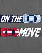 T-shirt en jersey On the Move Race Car, , hi-res