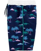 Dinosaur Swim Trunks, , hi-res