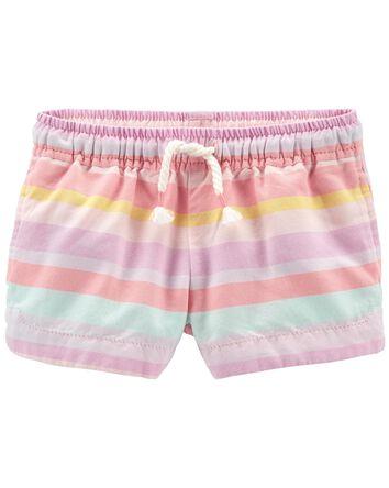 Striped Dolphin Shorts