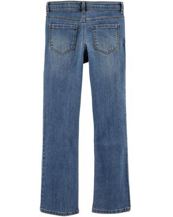 Jeans coupe botte - délavage bleu U...