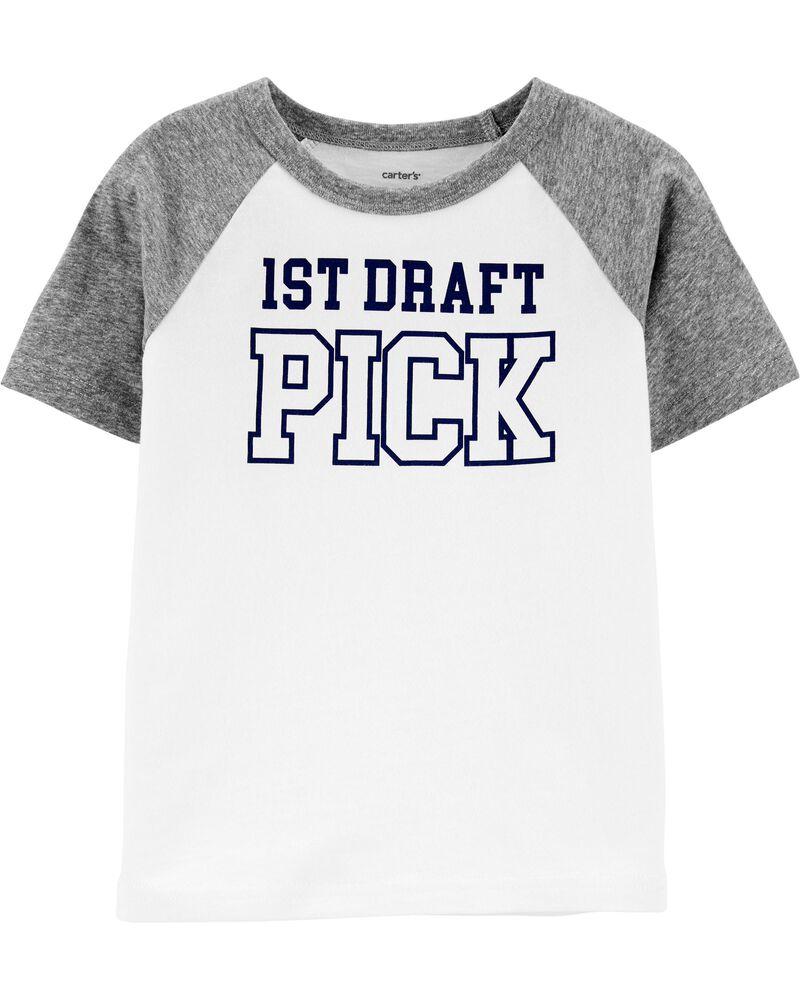 T-shirt en jersey 1st Draft Pick, , hi-res