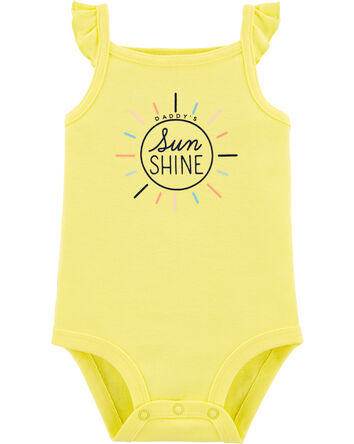 Daddy's Sunshine Flutter Bodysuit
