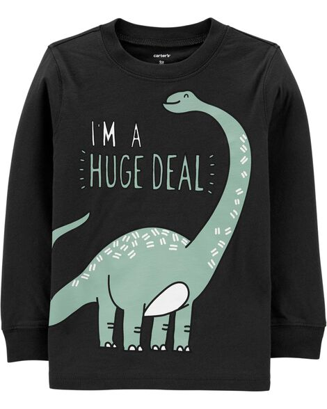 Dinosaur Huge Deal Jersey Tee
