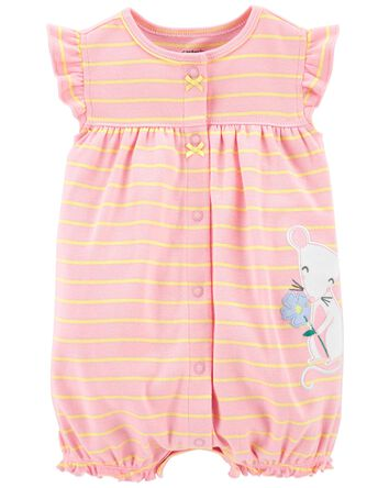 Mouse Snap-Up Romper