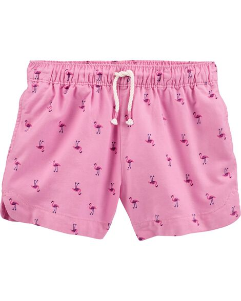 Flamingo Sun Shorts