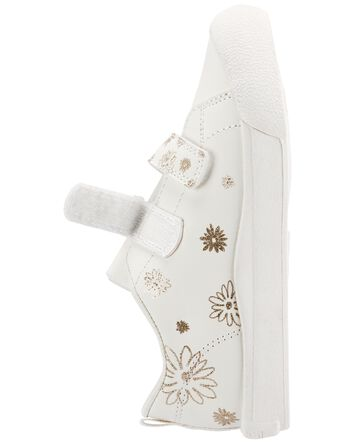 Sparkle Flower Sneakers