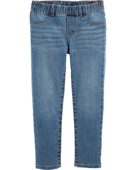 Pull-On Jeggings - Laurel Blue Wash