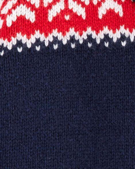 Cardigan col châle motif jacquard