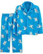 Pyjama 2 pièces à yéti, , hi-res