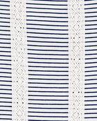 Striped Crochet Tunic, , hi-res
