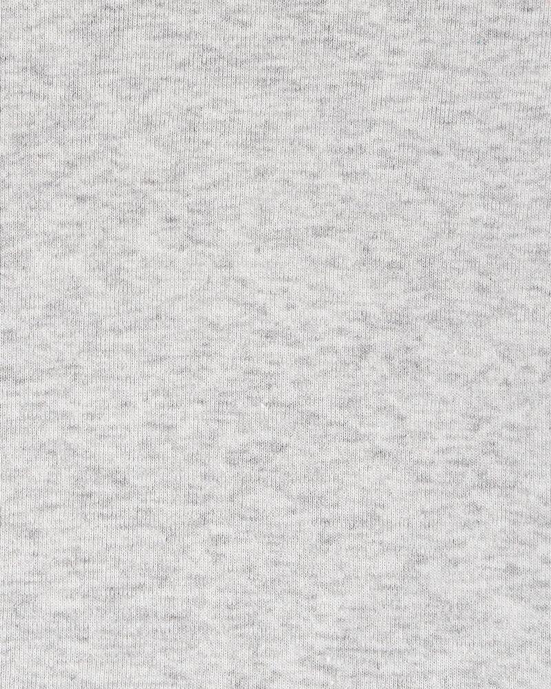 Ensemble 3 pièces t-shirt et robe chasuble à pois, , hi-res