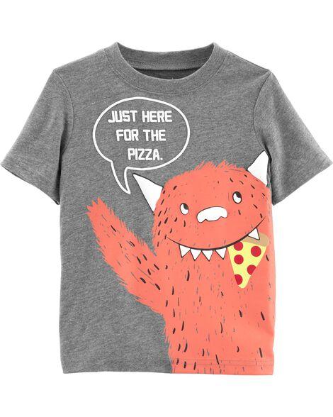 Pizza Monster Jersey Tee