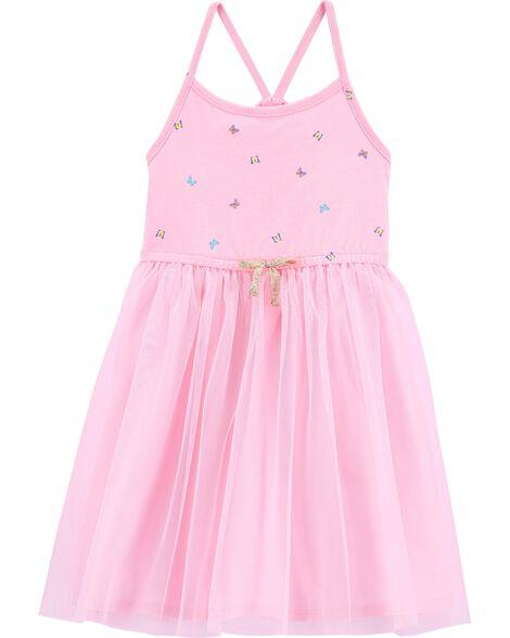 Butterfly Tulle Dress