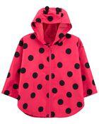 Ladybug Raincoat, , hi-res