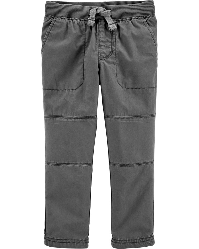 Pantalon à enfiler avec genoux renforcés, , hi-res