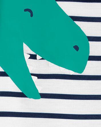 Pyjama 3 pièces en polyester à dino...