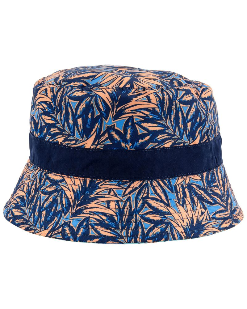 Reversible Shark Print Bucket Hat, , hi-res