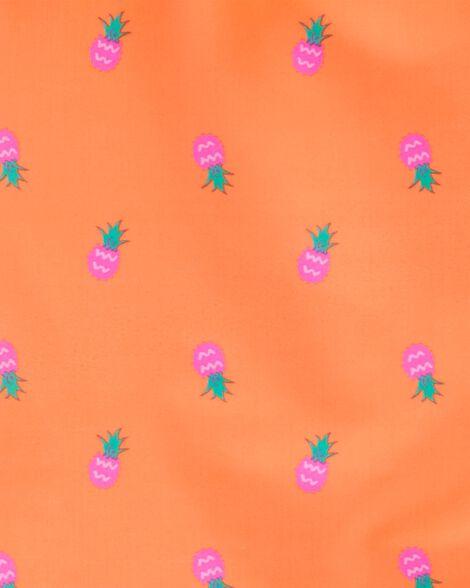 Tankini à ananas fluo