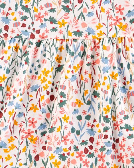 2-Piece Floral Flutter Tee & Jegging Set