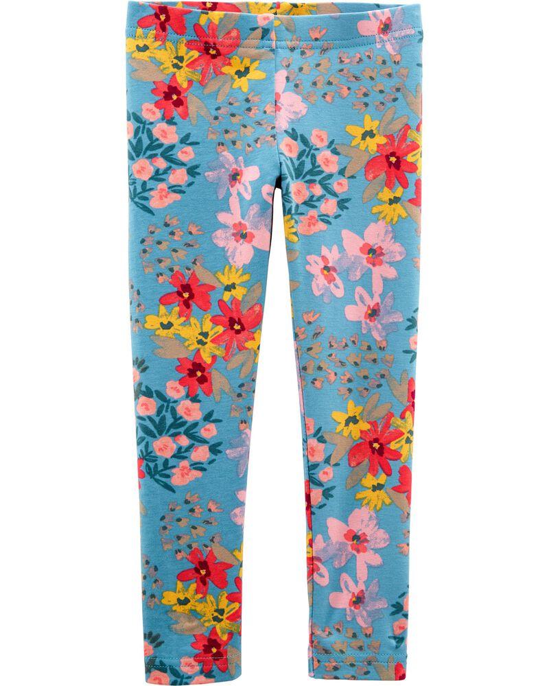 Floral Leggings, , hi-res