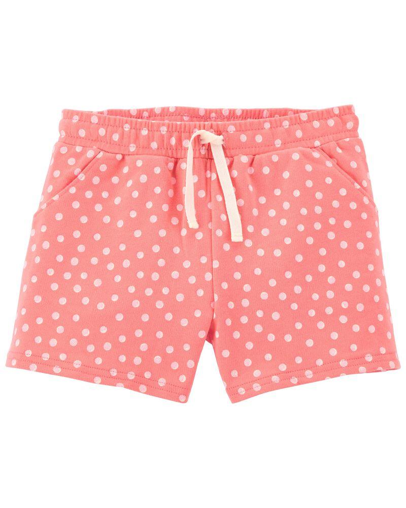 Polka Dot Pull-On Shorts, , hi-res