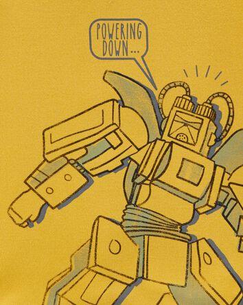 4-Piece Robot 100% Snug Fit Cotton...