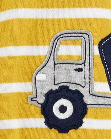 Construction Truck Snap-Up Cotton S...