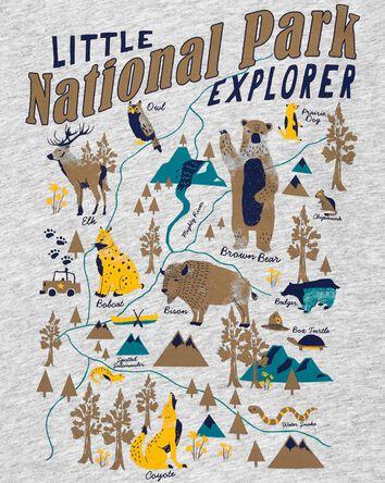 T-shirt en jersey National Park Exp...