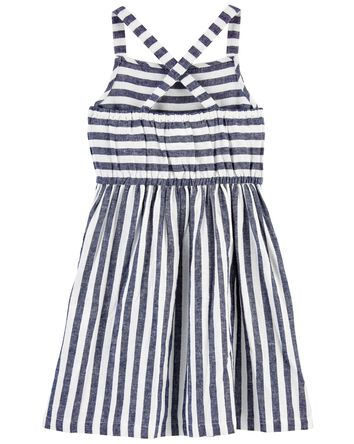 Striped Linen Dress