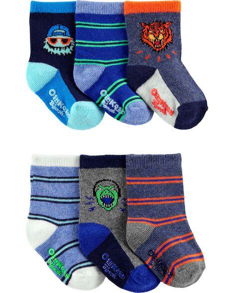 Emballage de 6 paires de chaussettes de marin