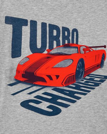 T-shirt en jersey Turbo