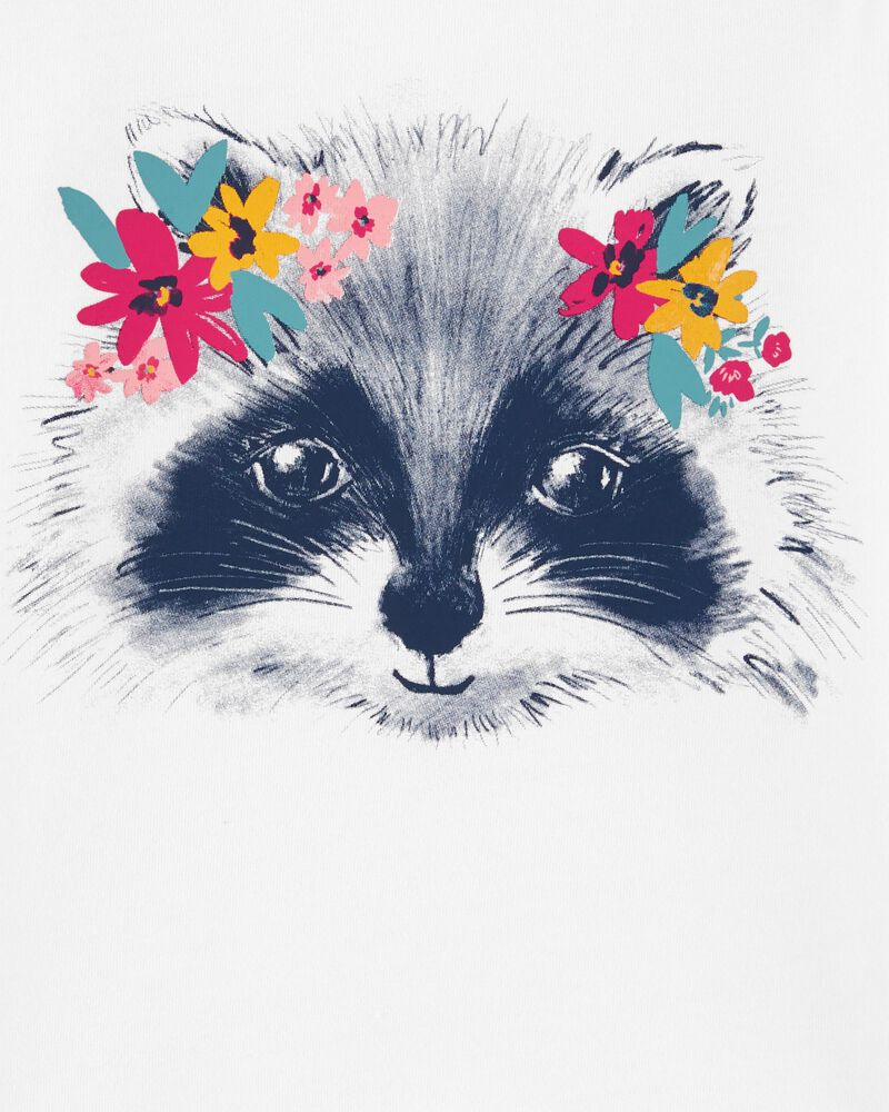 Raccoon Jersey Tee, , hi-res