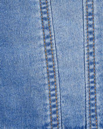 Blouson en tricot de denim
