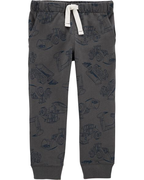 Construction Pull-On French Terry Joggers
