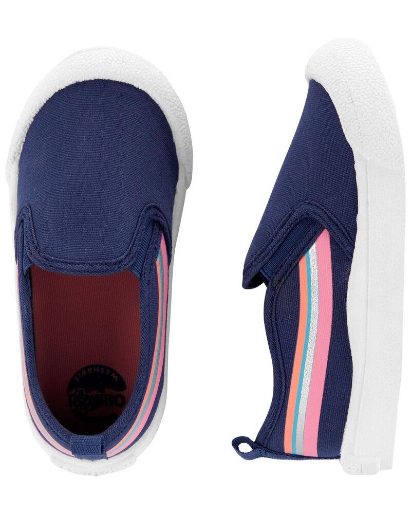 Retro Stripe Slip-Ons, , hi-res