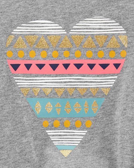 Heart Tie-Front Jersey Tee