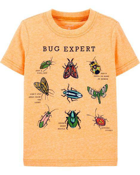 Bug Expert Snow Yarn Jersey Tee