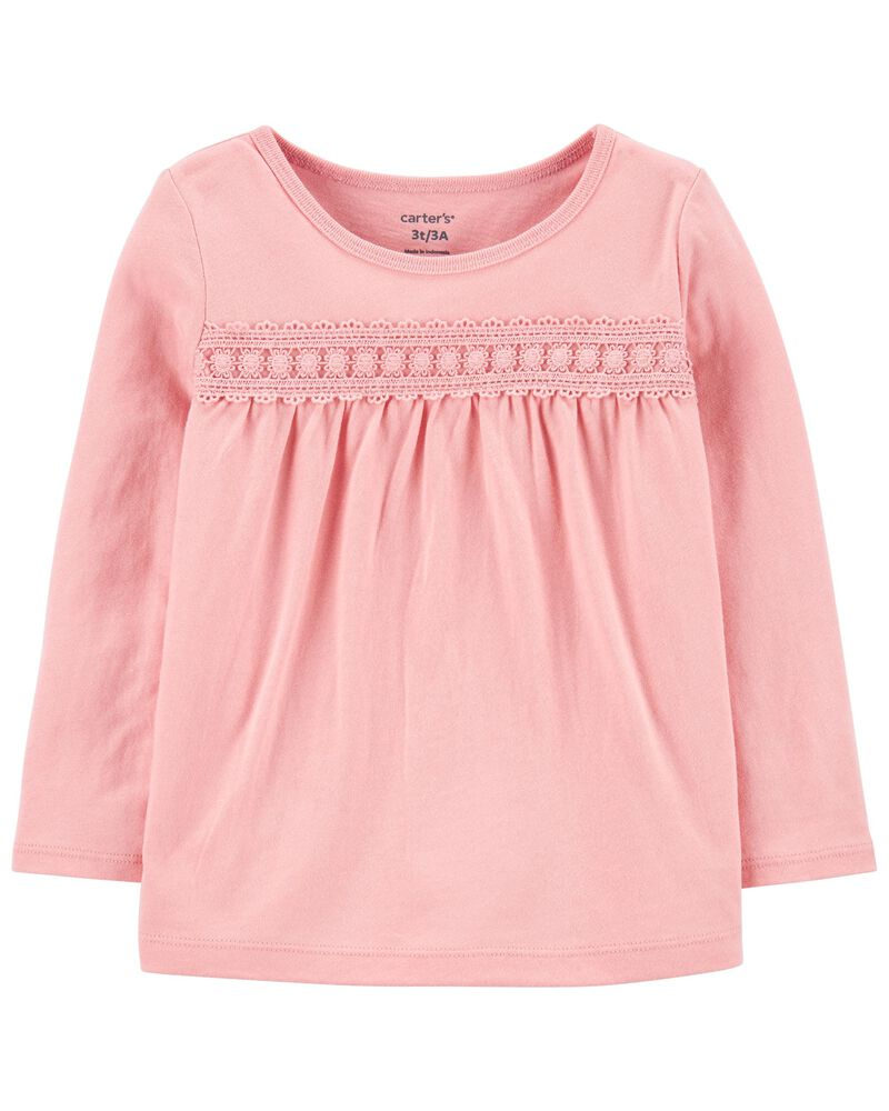 Ruched Jersey Top, , hi-res