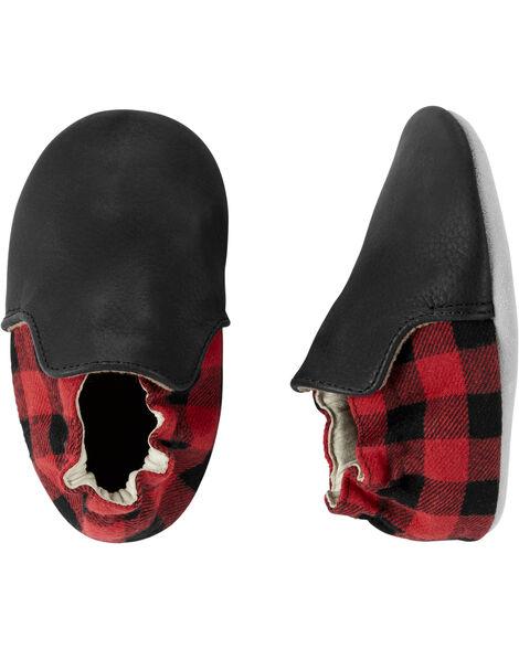 Chaussures à semelles souples à carreaux buffalo