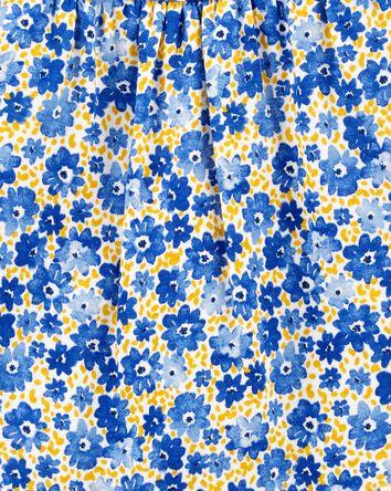 Cache-couche fleuri