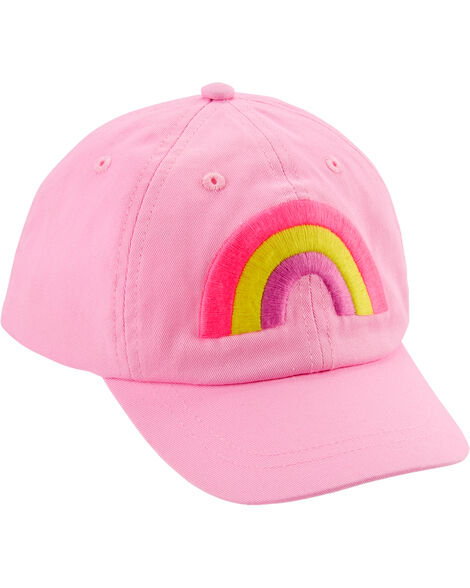 Embroidered Rainbow Baseball Hat