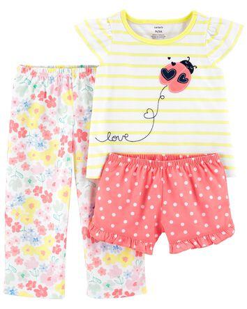 Pyjama 3 pièces de coupe ample cocc...
