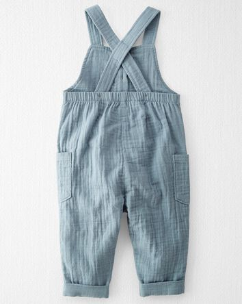 Organic Cotton Gauze Overall Jumpsu...