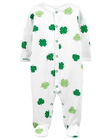 St. Patrick's Day Snap-Up Cotton Sl...
