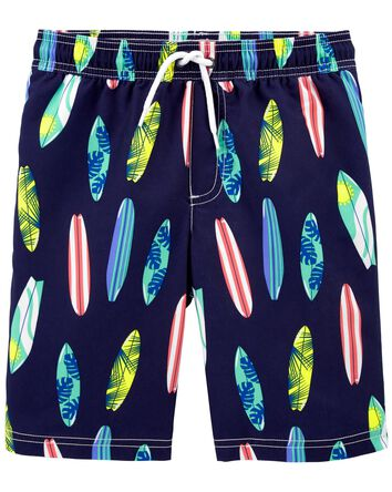 Surfboard Swim Trunks