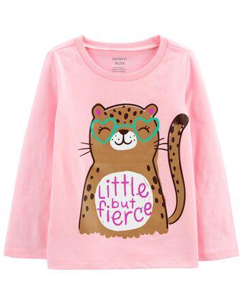 T-shirt en jersey à guépard