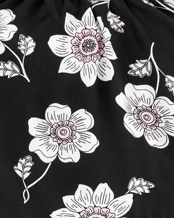 2-Piece Floral Poplin Tank & Short...